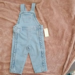 First Impressions jean brand new 18 month overalls